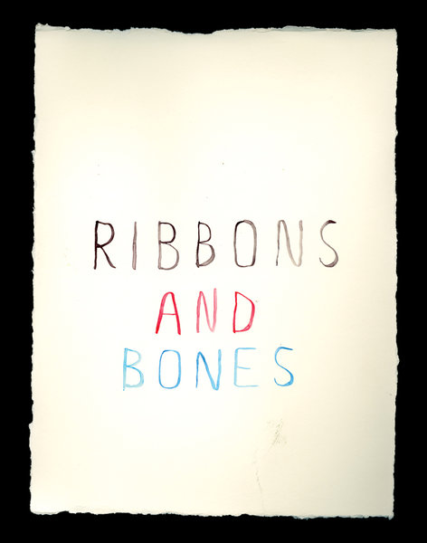 Beyond the Vanishing Point - Experiments in Rumors (book excerpt) 2008 - RIBBONS_AND_BONES