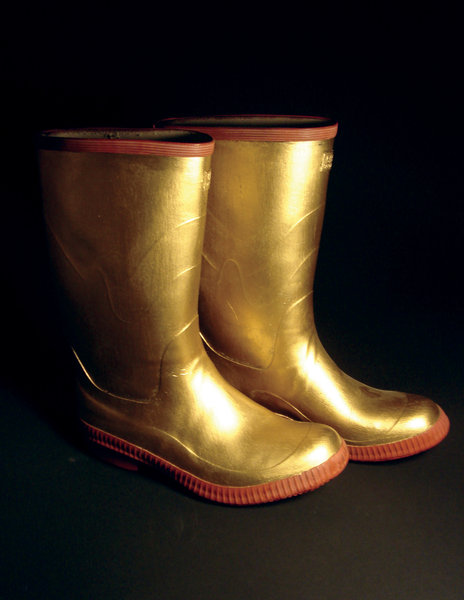 Beyond the Vanishing Point - The Weight of Gold  - GOLD_BOOTS